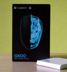 Мышь Logitech G600 игровая проводная