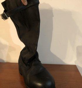 Мужские сапоги юфтевые яловые СССР