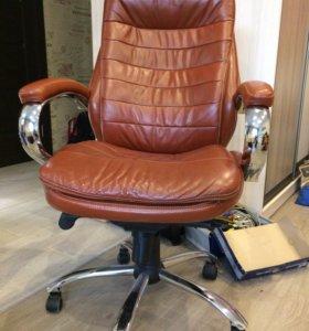 Кресло дакота люкс кожа