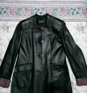 Кожанные пиджак