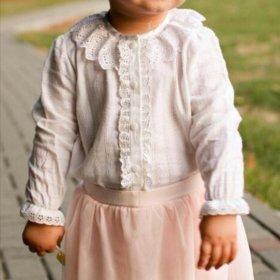 Рубашка для девочки 1-2 года
