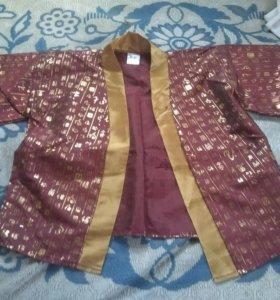 Новогодний костюм самурая на 10-12 лет