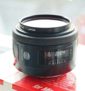 Объектив Minolta AF 50mm f/1.7