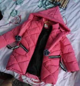 Детская куртка, зима.