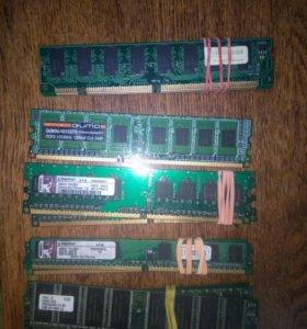 Оперативная память ddr, ddr2, ddr3, pc133