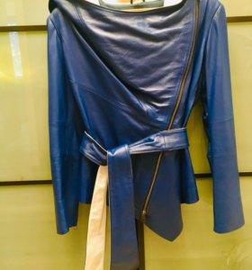 Новая кожаная куртка из Греции