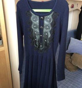 Платье трикотажное р.146-152
