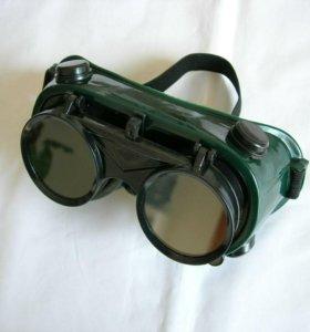 Очки-маска для газосварки WELDING GOGGLED