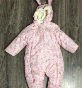Детская одежда - Комбинезон Зайка