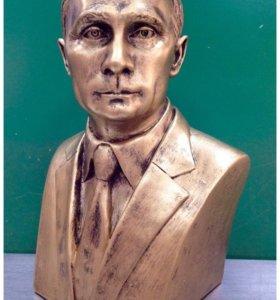 Бюст Президента РФ В.В. Путина