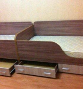 Кровати детские гарнитуром