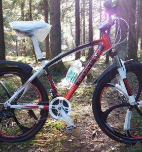 Премиум с доставкой велосипед на литых дисках