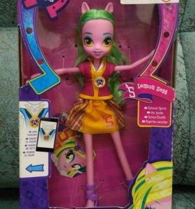 Новая кукла пони Lemon Zest MLP Equestria girls