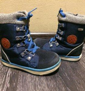 Зимние ботинки reima teс
