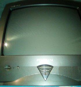 Телевизор Рубин, в рабочем состоянии