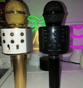 Микрофон караоке - Колонка WS-858