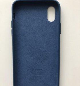 Силиконовый бампер на айфон 10