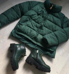 Куртка и ботики Pierre Cardin