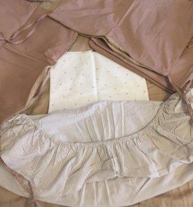 Набор в детскую кроватку 120 на 60