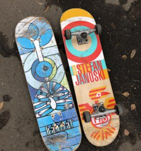 Скейтборд Habitat комплект + дека