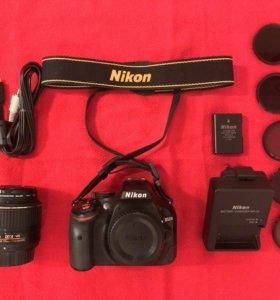 Фотоаппарат Nikon D5200 и объектив Ростест