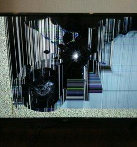 Битый телевизор