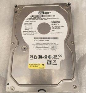 Жесткий диск WD 80 Gb