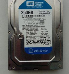 Western Digital Caviar Blue 250 Гб WD2500aajs 250