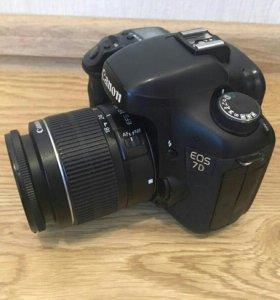 Canon 7d с объективом 18-135 mm