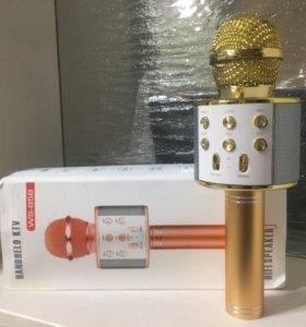 Караоке микрофон беспроводной