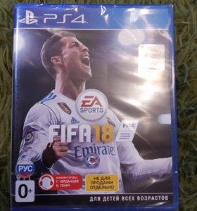 Игра Fifa18 PS4