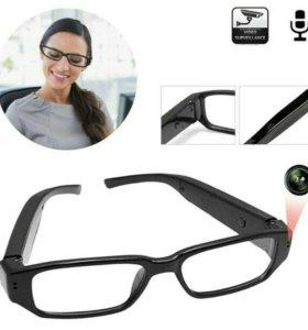 Видеонаблюдение, скрытая камера, очки шпиона