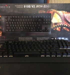 Механическая клавиатура Oklick 910g v2 iron edge