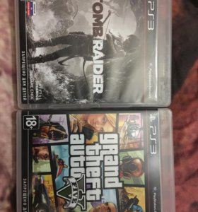 GTA 5/tomb raider ps3
