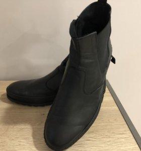 Кожаные Ботинки Carlo Pazolini, теплые, р46-31см