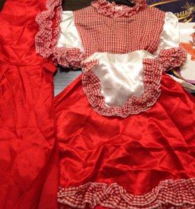 Новые карнавальные костюмы Красная шапочка