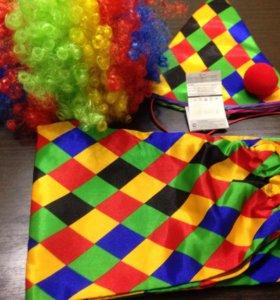 Новый карнавальный костюм Петрушка