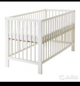 Детская кроватка икеа гуливер