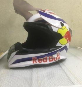 Мотошлем Red Bull размер L