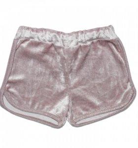 Новые шорты для девочек размер 110-116