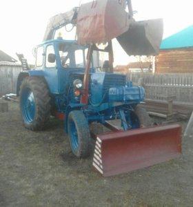 Трактор ЮМЗ-6АЛ (грейфер)