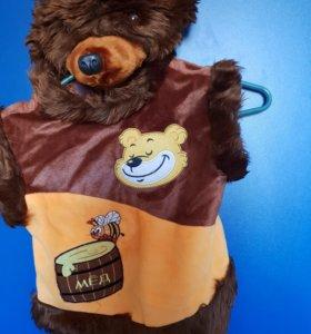 Новогодние костюмы 3-5 лет, медвежонок, снеговик
