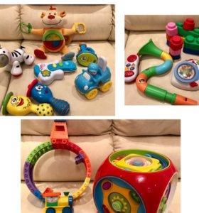 Музыкальные развивающие игрушки