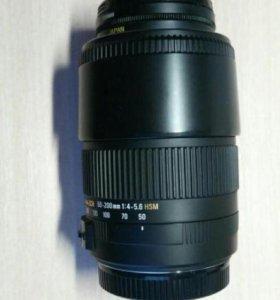 Телеобъектив Sigma 50-200mm