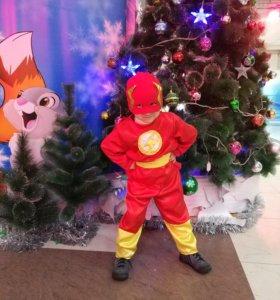 Новогодний костюм, супергерой Флеш