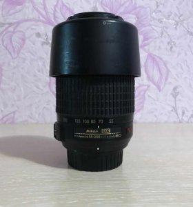 Af-s nikkor 55-200 mm