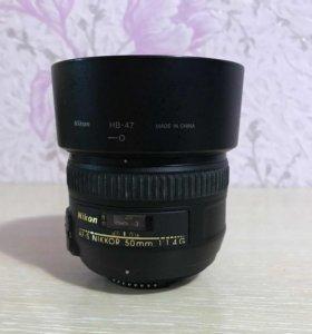 Af-s nikkor 50 mm f1.4