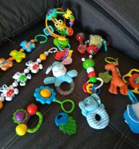 Игрушки до года одним лотом