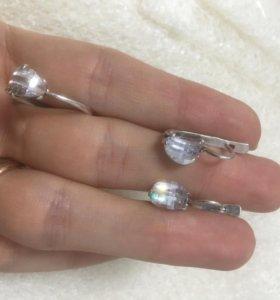 Серебрянный набор