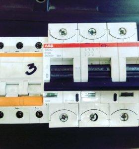 Автомат трех полюсный